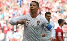 Cristiano Ronaldo resuelve por la mínima ante Marruecos