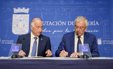 Diputación y Asempal producirán agua desalada con energía solar y eólica