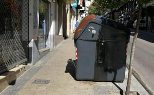 Vecinos del Bulevar en pie de guerra contra los nuevos contenedores