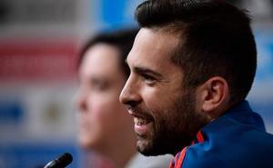 Jordi Alba: «Dramatizamos un poco; menos mal que estamos ganando...»