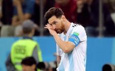 Messi roza un nuevo drama con Argentina