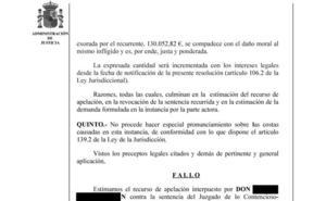 El SAS deberá pagar 130.000 euros por no advertir del riesgo de una biopsia