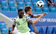 Nigeria-Islandia, en imágenes