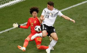 Alemania pisa terreno desconocido