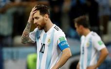 Messi, preso de Argentina