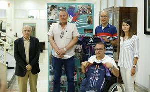 El ciclismo solidario une Tíjola y Barcelona