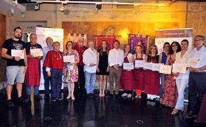 Entregan los premios 'Días de Mercurio' de las Fiestas Ibero Romanas de Cástulo