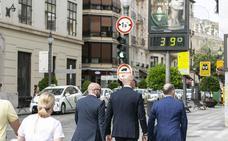 Granada, turistas a más de 35 grados