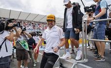 Alonso acabó «con una rueda mirando a Cuenca»