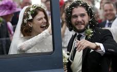 Así fue la esperada boda entre Jon Nieve y Ygritte