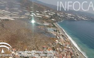 Extinguido el incendio forestal en Castell de Ferro