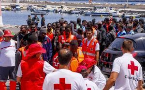 La llegada de inmigrantes a la Costa granadina se duplica en los primeros seis meses del año