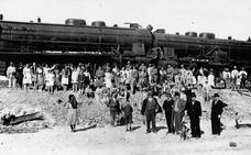 El accidente ferroviario de aficionados sevillistas