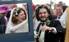 Así ha sido la boda de estos dos famosos actores de 'Juego de Tronos'