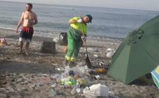 San Juan deja en las playas de la Costa más de 100 toneladas de basura