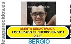 Hallan muerto a Sergio, el chico de 25 años con síndrome de Down desaparecido