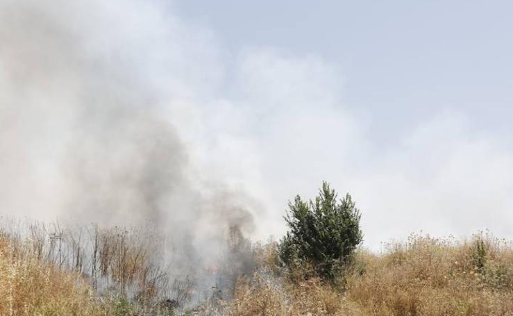 Incendio en la zona Norte por la acumulación de rastrojos