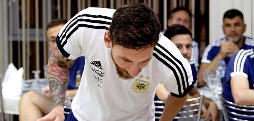 Nigeria-Argentina: todos miran al '10'