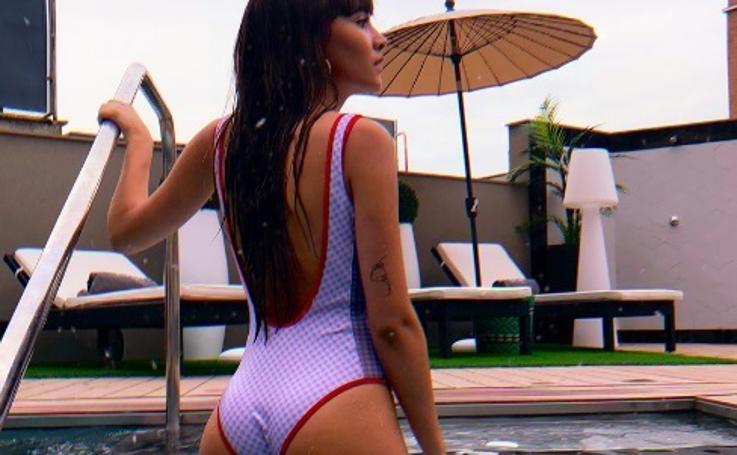 Las fotos de Aitana en bañador que arrasan en redes sociales