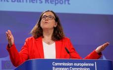 La UE quiere blindarse desde mediados de julio del acero que no quiere Trump
