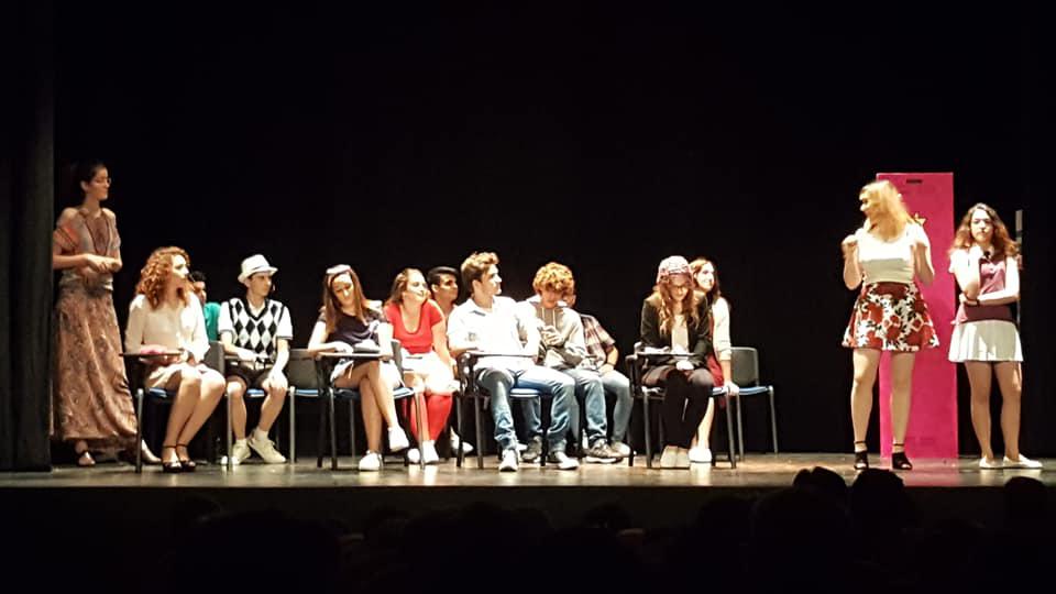 Los jóvenes de Cúllar Vega agotan las entradas con su 'High School Musical'