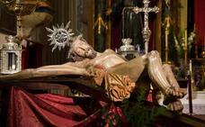 Indignación en el Realejo por el cristo que ha acabado en Sevilla