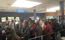 Desciende el número de pasajeros durante los primeros días de la OPE