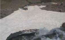 El espectacular y bello vídeo de la fusión de la nieve en Sierra Nevada