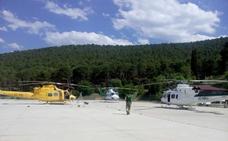 Denuncian el mal estado de los helicópteros del Infoca en Granada