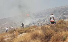 Una vecina con una enfermedad mental provocó el incendio forestal del domingo en Castell