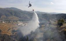 UGT denuncia fallos en helicópteros del Infoca y la Junta dice que son seguros