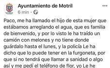 El misterioso «camión de melones» que invade el Facebook del Ayuntamiento de Motril
