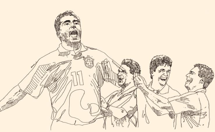 Romario contra Baggio