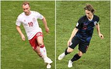 Croacia y Dinamarca, las revelaciones de los años 90