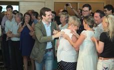 Casado se ofrece al PP de Almería como el líder que puede recuperar a los fugados hacia Ciudadanos