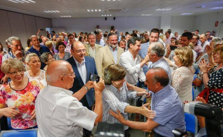 Asi ha sido el paso de Soraya Saénz de Santamaría por Granada