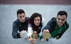 Éxito de los granadinos en los relevos con dos medallas