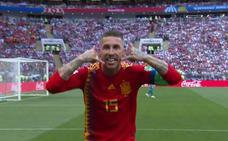 En el campo, habla Ramos