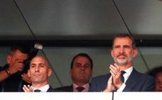 Rubiales dice que no se arrepiente de la destitución de Lopetegui
