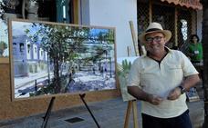 Pedro Orozco gana el primer premio en el VI Certamen de Pintura al Aire libre de Ugíjar