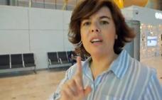 Sáenz de Santamaría exprime las redes antes de la primera votación