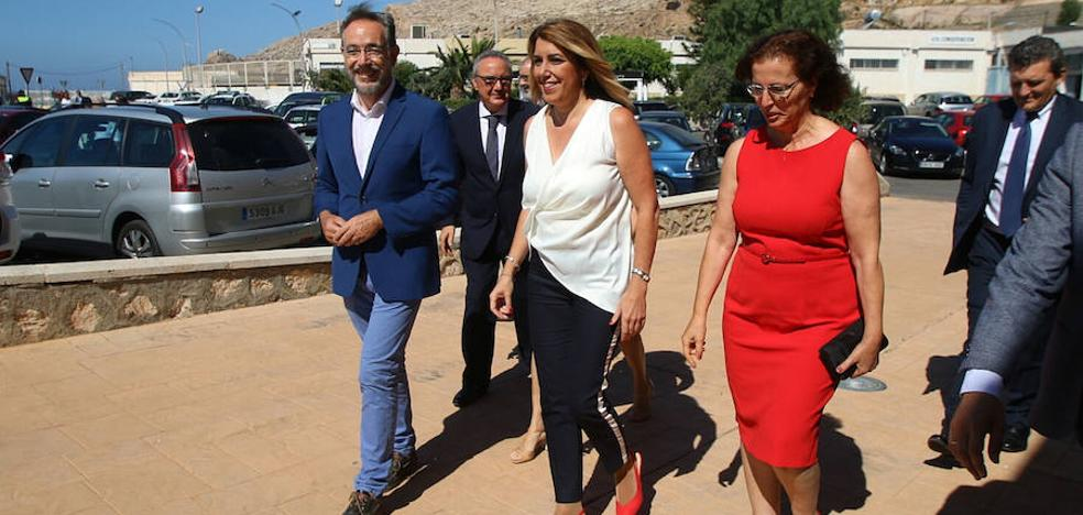 Díaz clama por el Corredor ante el atractivo económico de Almería