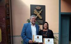 El 061 de Granada, reconocido por la Asociación de Guardias Civiles Solidarios por su colaboración en formación