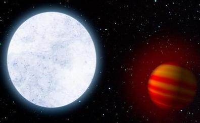 Descubren desde Calar Alto que la atmósfera del planeta más caliente conocido es capturada por su estrella
