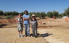 Amigos de los Iberos evita que la excavación del Arco de Augusto se interrumpa