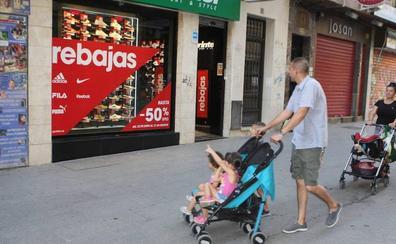 Las ventas en el centro de Jaén siguen bajando, según los comerciantes