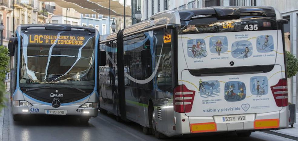 El mapa definitivo de los autobuses de Granada entrará en funcionamiento el próximo fin de semana