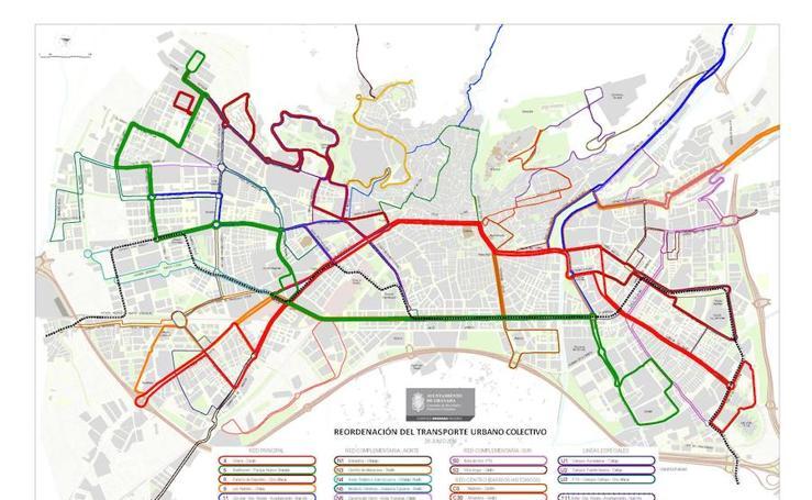 Así quedan las líneas de autobús tras los cambios