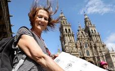 La hermana de John Lennon, entusiasta peregrina del Camino de Santiago