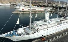 Un velero de Bahamas llega el martes al puerto de Almería